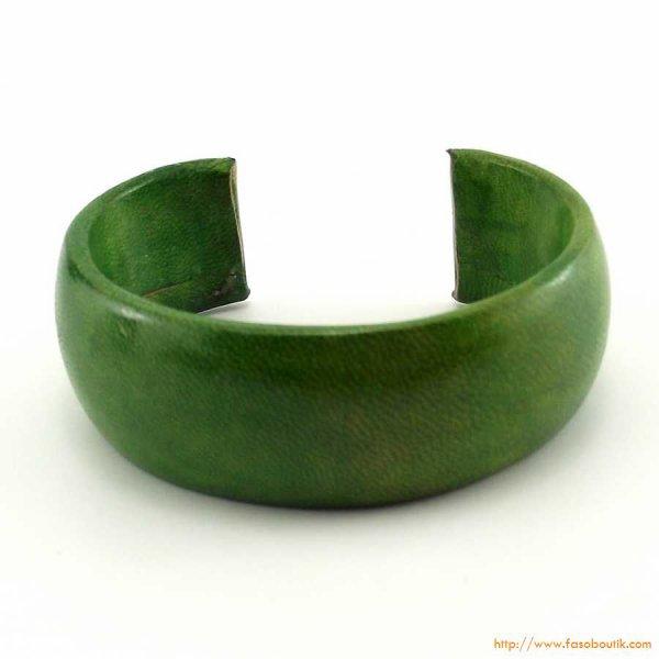 Bracelet en cuir africain