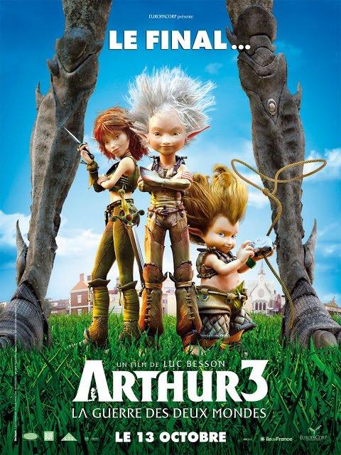 Arthur 3  : La guerre des mondes