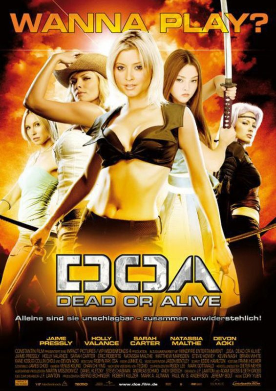 DOA : Dead or Alive.