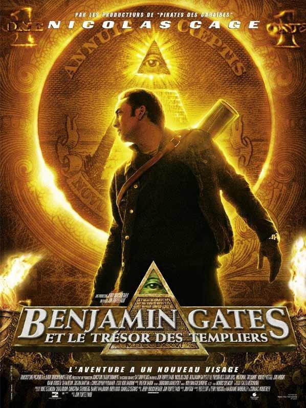 Benjamin Gates , chapitre 1 : Le trésor des Templiers