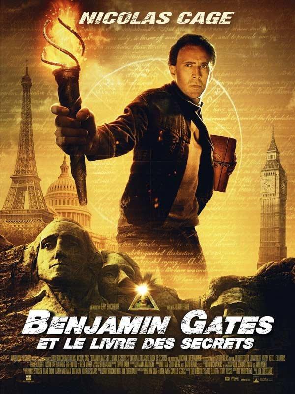 Benjamin Gates , Chapitre 2 : Le livre des secrets
