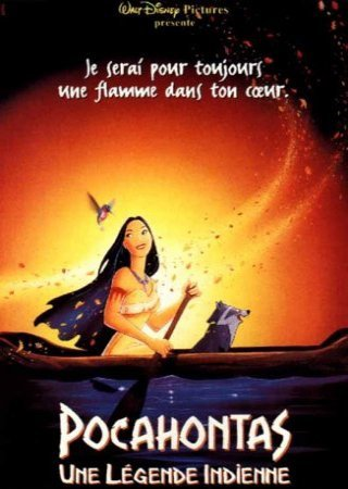 Pocahontas , Une légende Indienne