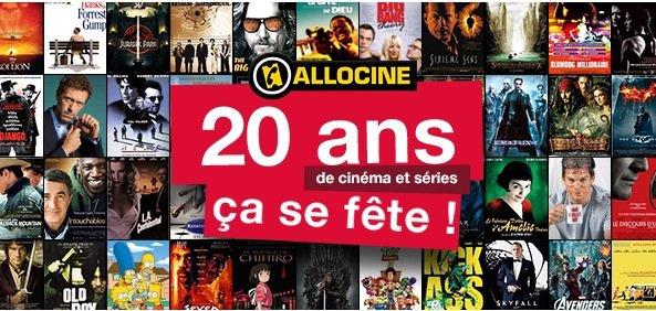 20 ans d'Allociné : numéro 1