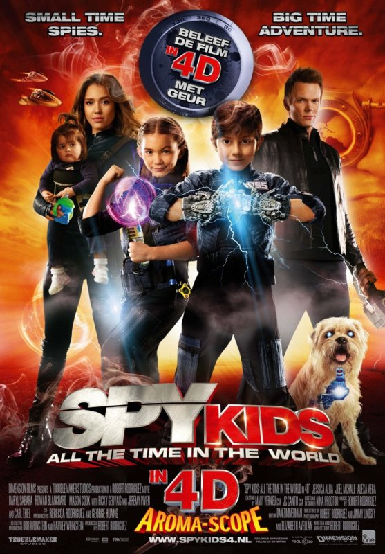 Spy Kids 4D : All the Time in The World