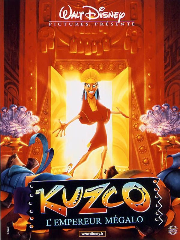 Kuzko , l'empereur mégalo