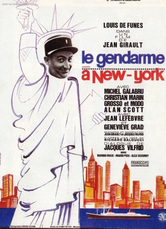 Le gendarme 2 : Le gendarme à New York