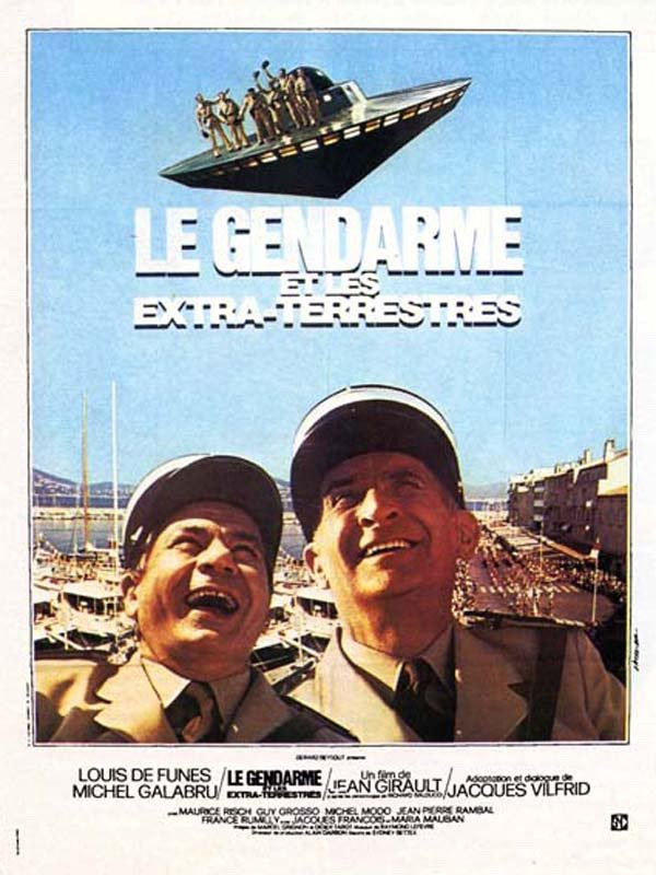 Le gendarme 5 : Le gendarme et les extraterrestres