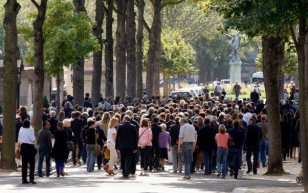 Enterrement de Valérie Benguigui
