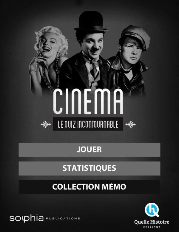 Mémo-Cinema, le quizz incontournable !