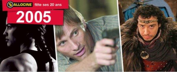 20 ans d'Allociné numéro 13 : Hors-Série «Année 2005»