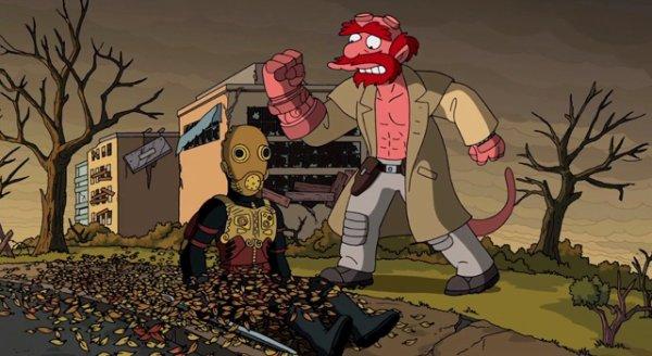 Halloween invite les Simpson numéro 2