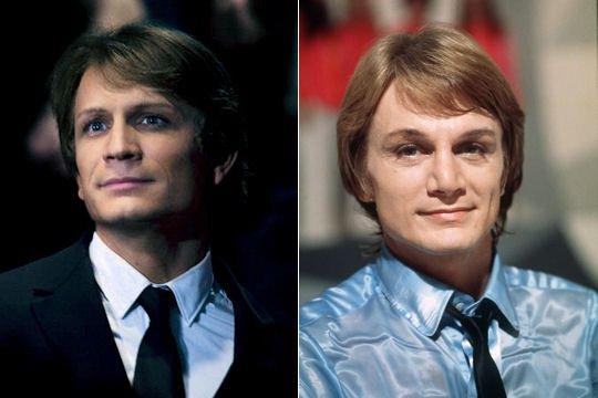 Les ressemblances effrayantes d'acteurs pour les Biopics