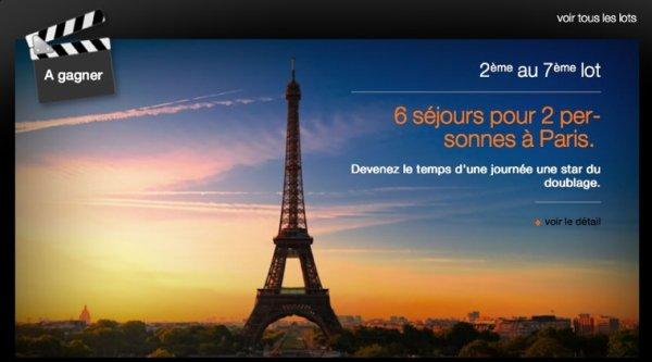 Concours Orange Cinéday