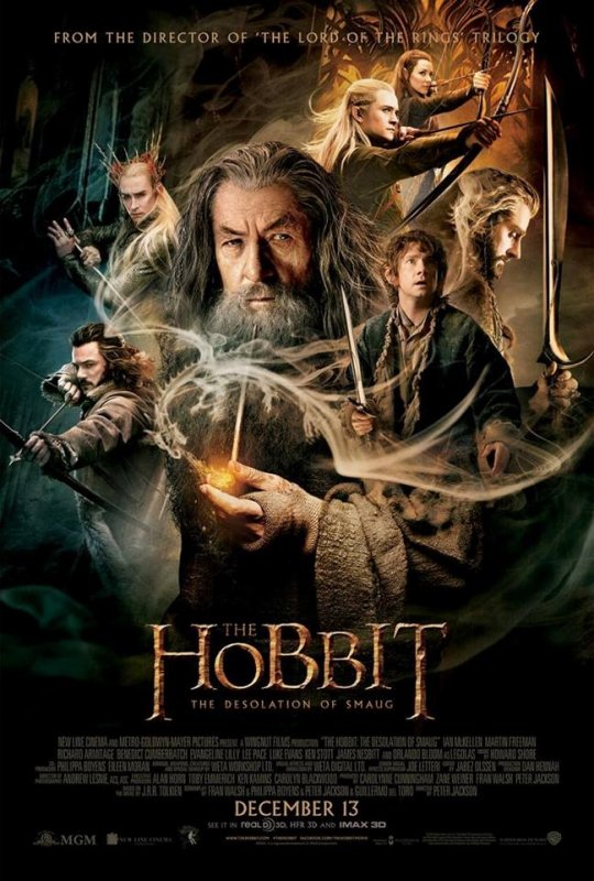 Le Hobbit : La désolation du Smaug