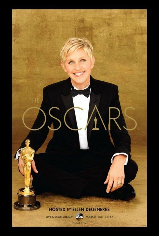 L'affiche des Oscars 2014