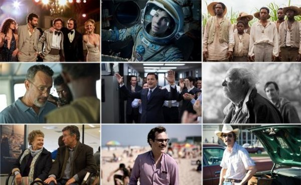 Nominations Oscars 2014