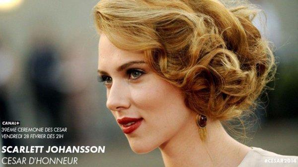 César d'Honneur pour Scarlett Johansson