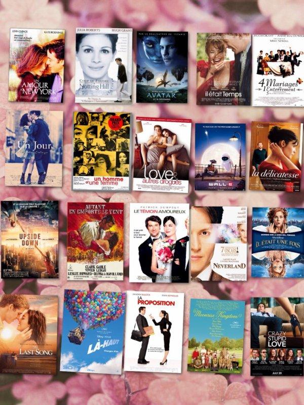 Films à voir pour la Saint-Valentin