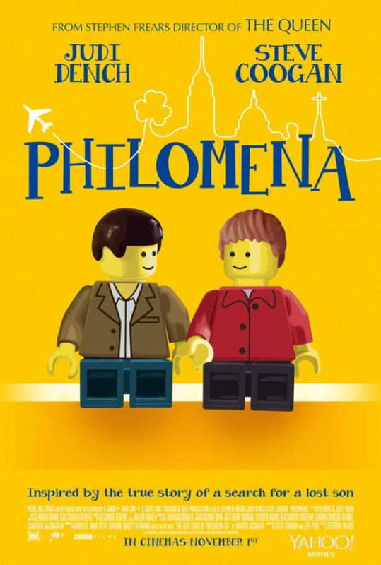 Les nommés des Oscars en Lego