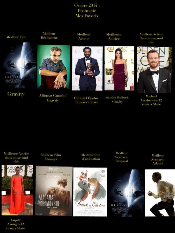 Oscars 2014 : Pronostics numéro 2