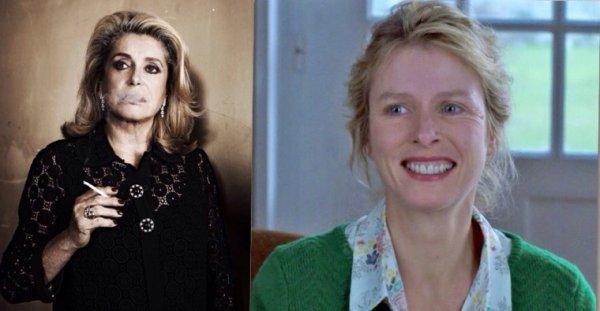 Karin Viard vote pour Catherine Deneuve aux Césars 2014
