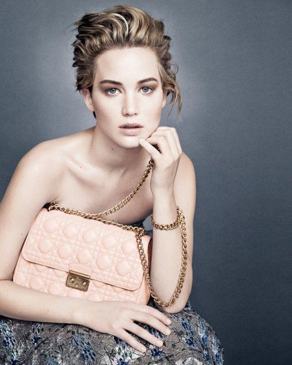 Jennifer Lawrence : Magnifique pour la nouvelle campagne de «Dior»