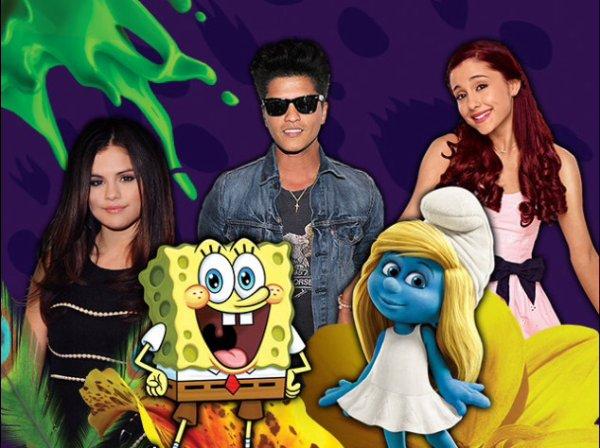 Nominations des Kids Choice Awards 2014
