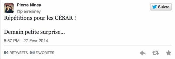 Dans les coulisses des Césars 2014