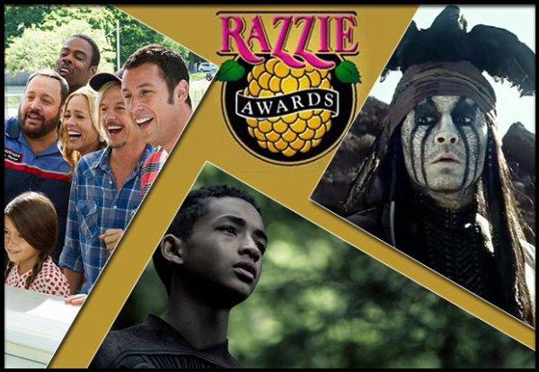 Palmarès complet des Razzie Awards 2014