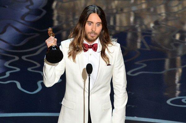 Jared Leto casse son Oscar