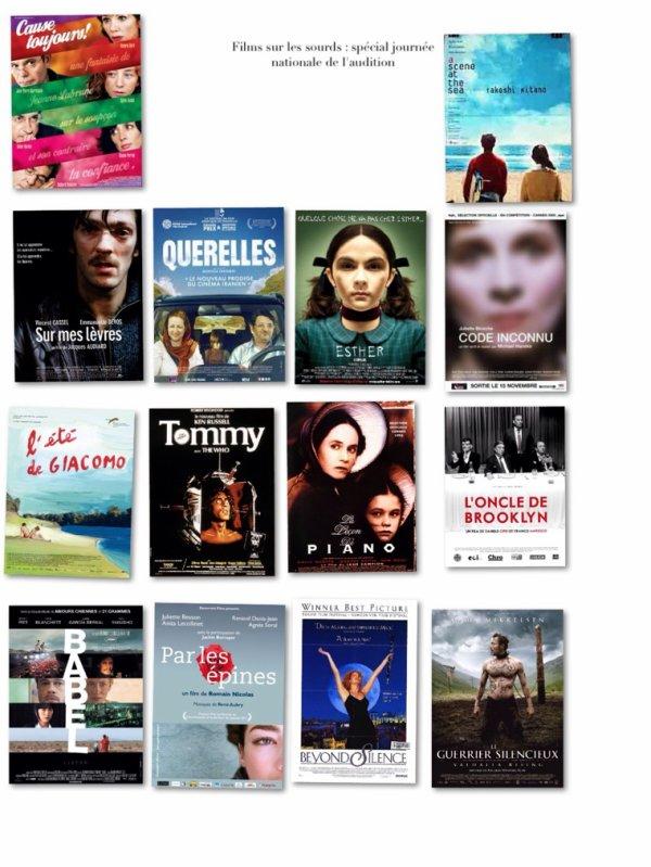 Films sur les sourds : Spécial journée nationale de l'audition