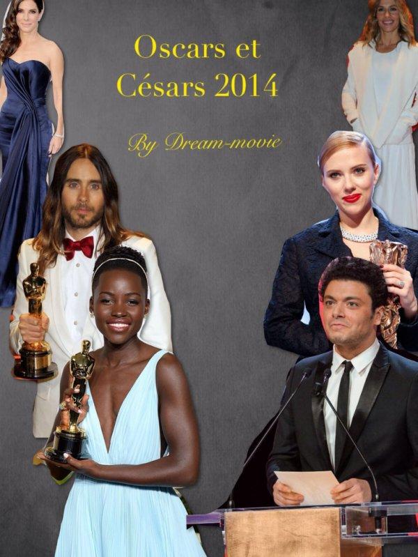 Ma nouvelle photo de profil : Césars/Oscars 2014
