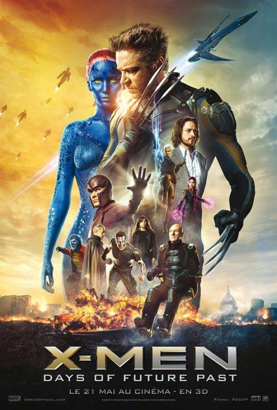 Affiche française de X-Men : Day of future past