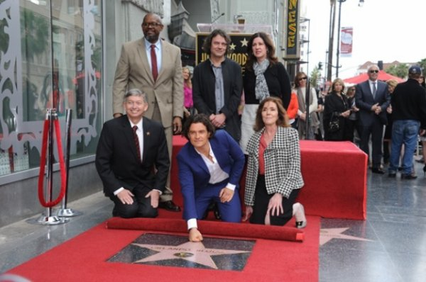 Orlando Bloom a son étoile sur Hollywood Boulevard