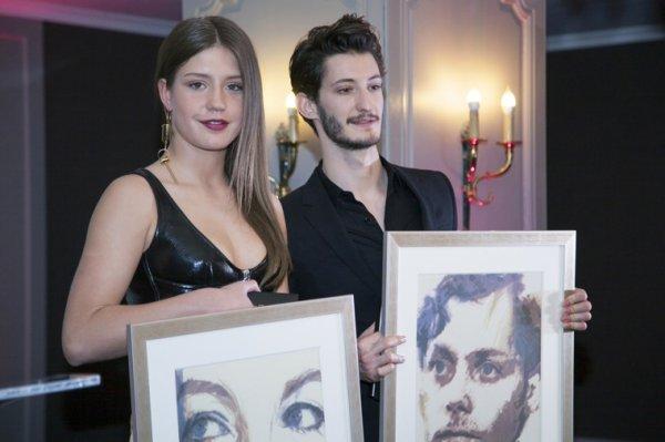 Adele Exarchopoulos et Pierre Niney ont leurs prix Romy Schneider et Patrick Dewaere