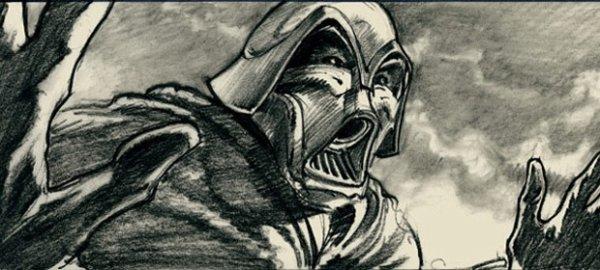 Les storyboards de «Star Wars» numéro 1