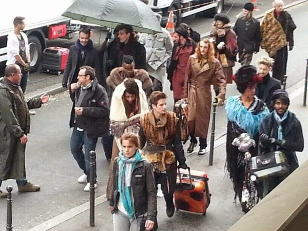 Photos du Tournage d'«Hunger Games 3, La Révolte-partie 2»