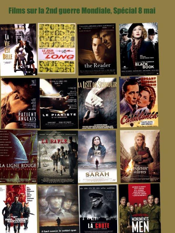 Films sur la 2nd guerre Mondiale, spécial 8 Mai