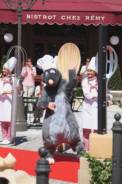 L'attraction «Ratatouille» de Disneyland Paris