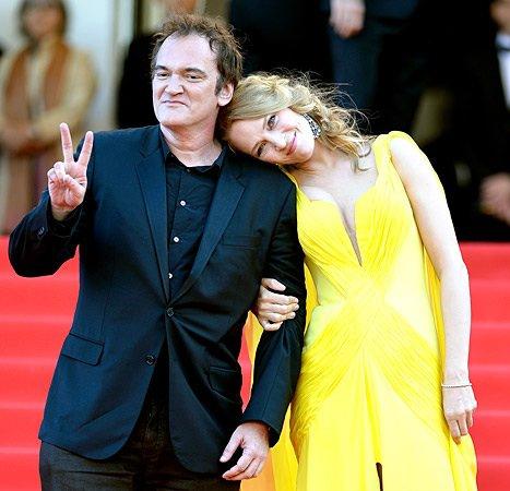 Quentin Tarantino et Uma Thurman : En couple