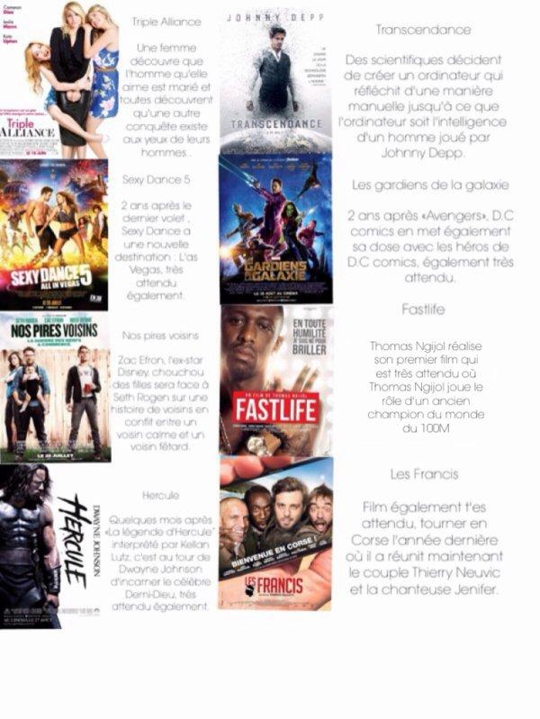 Les films qui nous attendent cet été (2014)