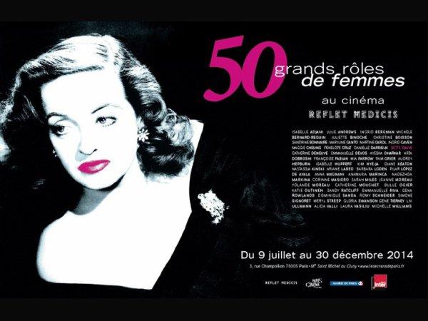 50 grands rôles de femmes au cinéma