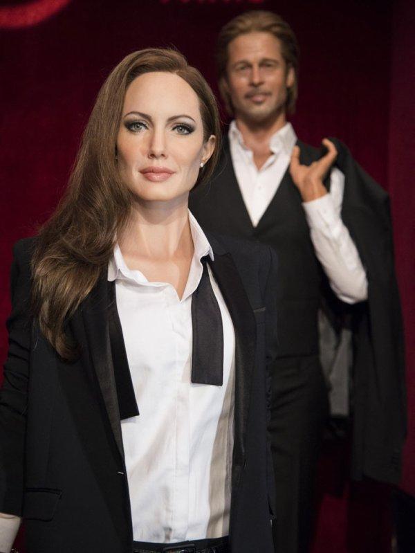 La statue d'Angelina Jolie à Grévin