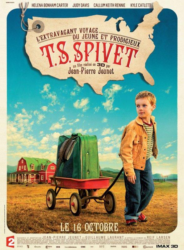 L'extravagant voyage du jeune et prodigieux T.S Spivet