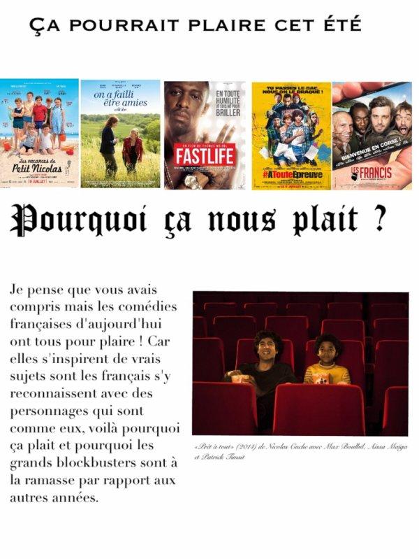 Comédies françaises : Pourquoi ça plait ?