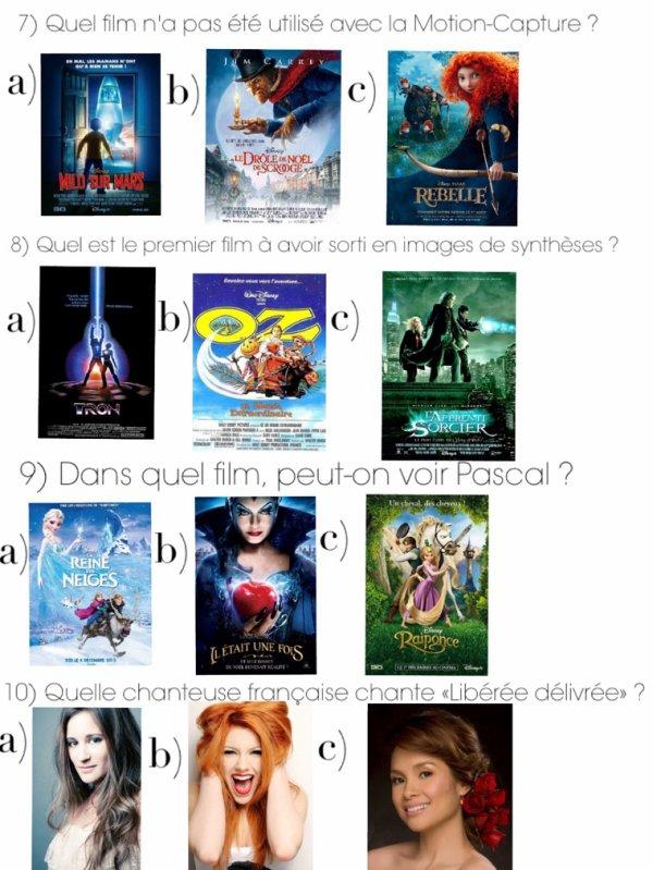 Cahier de vacances spécial cinema : numéro 1, Disney