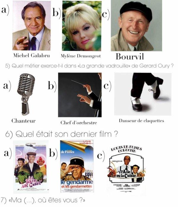 Cahier de vacances spécial cinema : Numéro 4, Louis De Funès
