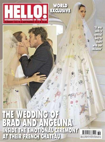 Les Brangelina se marièrent et eurent beaucoup d'enfants