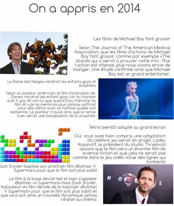 Bilan 2014 : Ce qu'on a appris cette année