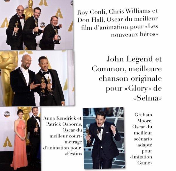Palmarès des Oscars 2015